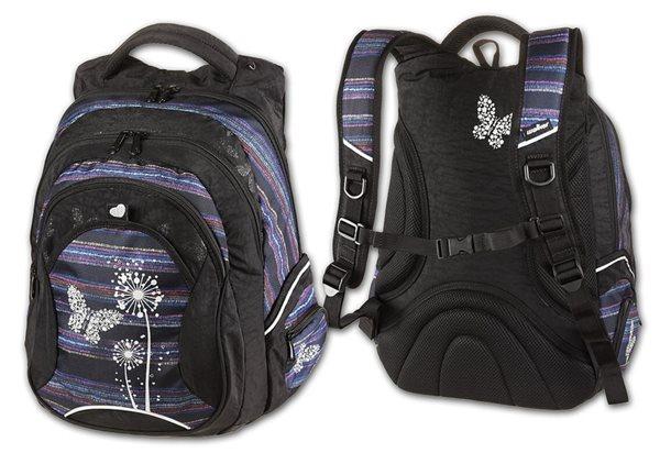 Studentský batoh Walker - Paradise fialový, Doprava zdarma