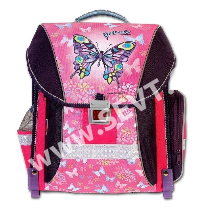 1f081a3848 Školní batoh Emipo - Butterfly - SEVT.cz