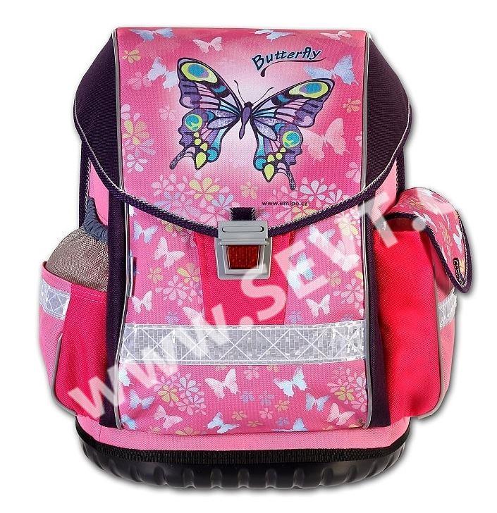 Školní batoh Emipo ERGO TWO - Butterfly - SEVT.cz 5d919ea61a