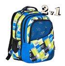 Studentský batoh Explore 2v1 DANIEL Mix Yellow