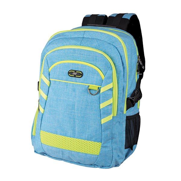 Studentský batoh Easy - FLUO modrý