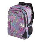 Studentský batoh Easy - Peace - šedá