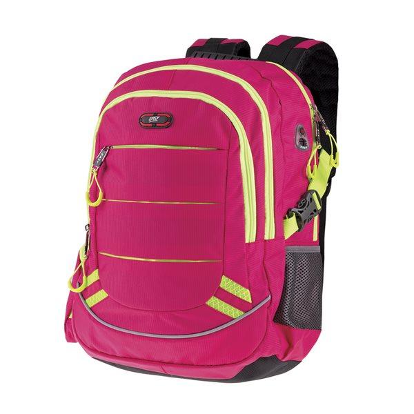 Studentský batoh Easy - malinová