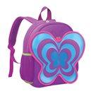 Dětský batoh neoprenový - motýl fialový