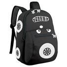 Dětský batoh neoprenový - autíčko černé