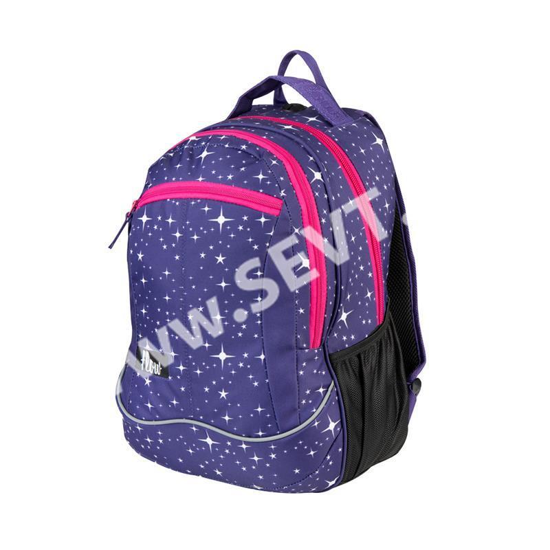 Školní batoh dvoukomorový Easy - Hvězdy - SEVT.cz 4ba2fdefb9