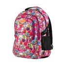Studentský batoh tříkomorový Easy - růžový Comics