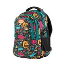 Studentský batoh tříkomorový Easy - černo-modrý