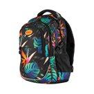 Studentský batoh tříkomorový Easy - Tropical