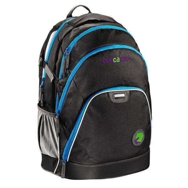 Studentský batoh Coocazoo - EvverClevver - Black, Doprava zdarma