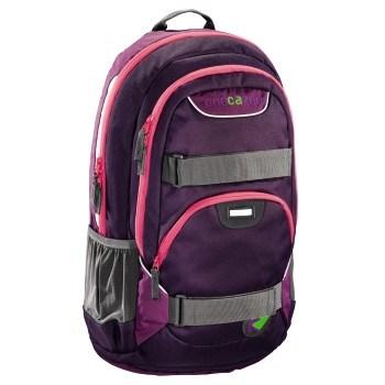 Studentský batoh Coocazoo - Rayday - Purple Magnetic, Doprava zdarma