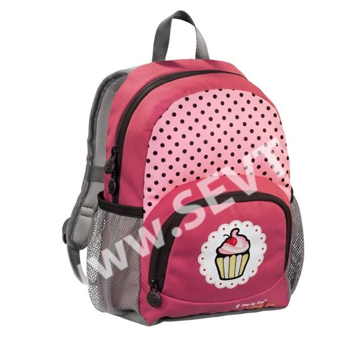 fccde20a850 Dětský předškolní batoh Hama - Step by Step - Dressy - Muffinek ...