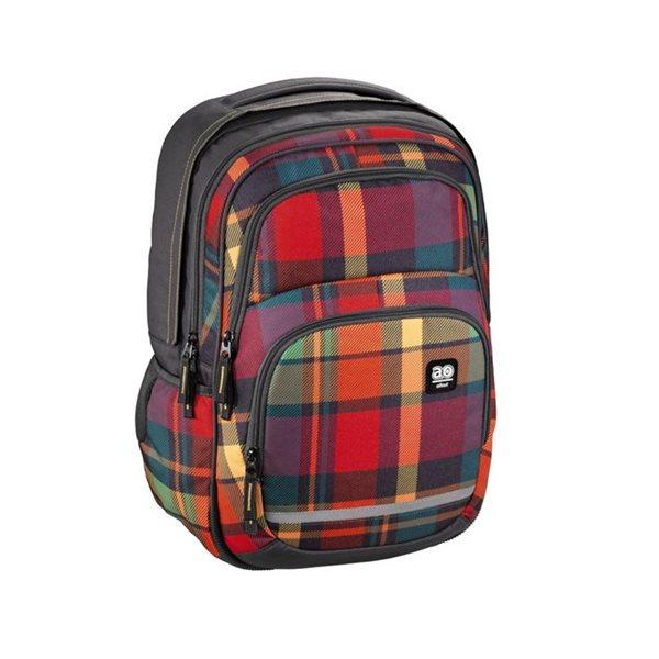 Školní batoh Hama All Out - Blaby - Woody Orange