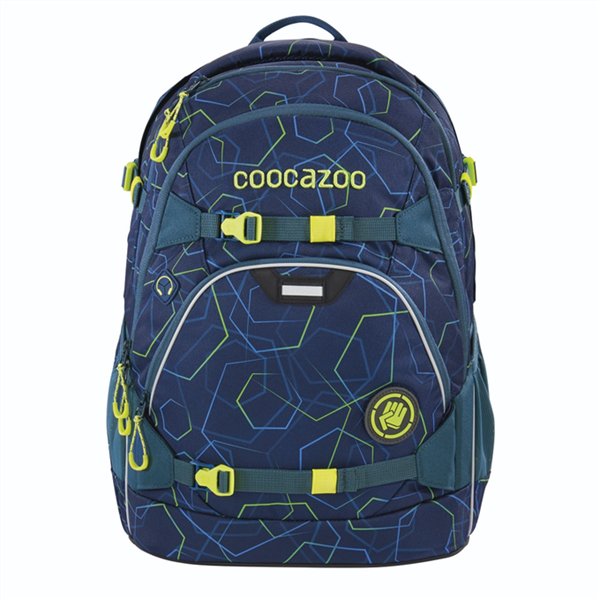 Školní batoh Coocazoo - ScaleRale - Laserbeam Blue