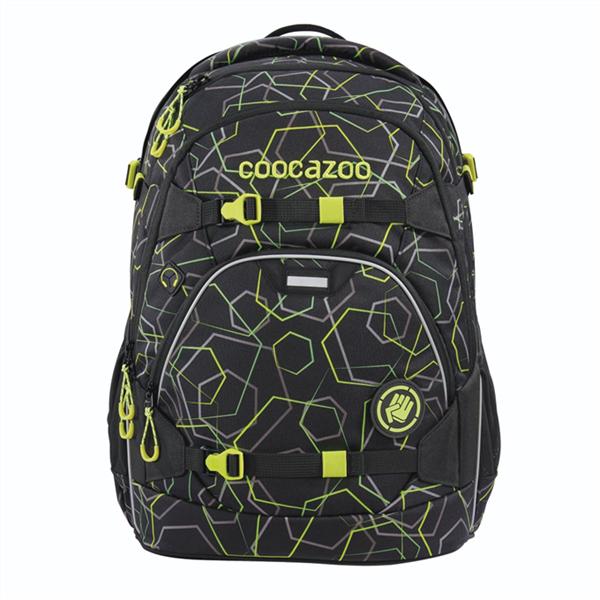 Školní batoh Coocazoo - ScaleRale - Laserbeam Black
