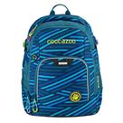 Školní batoh Coocazoo - RayDay - Zebra Stripe Blue
