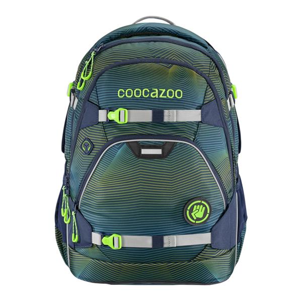 Školní batoh Coocazoo - ScaleRale - Soniclights Green