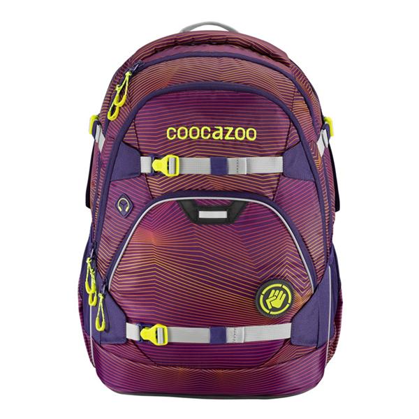 Školní batoh Coocazoo - ScaleRale - Soniclights Purple