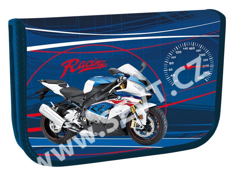 0d4cdbcbae0 Školní set Speed Racing Junior (batoh + penál + sáček + peněženka + boxy na  sešity A4 a A5)