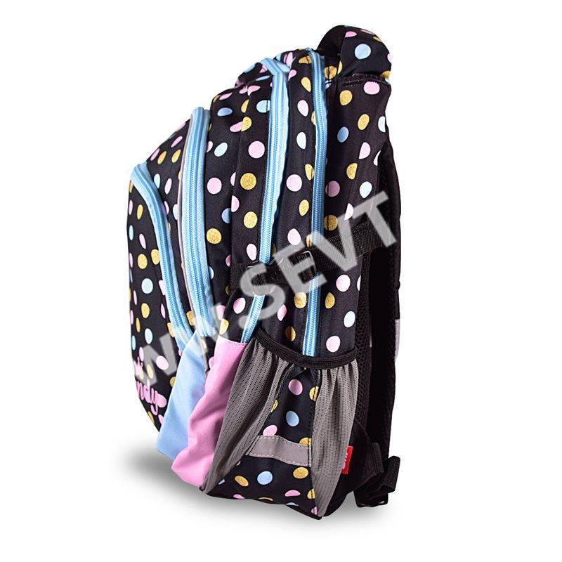 3f713d7efce Školní set Candy Junior (batoh + penál + sáček + peněženka + boxy na sešity  A4 a A5)