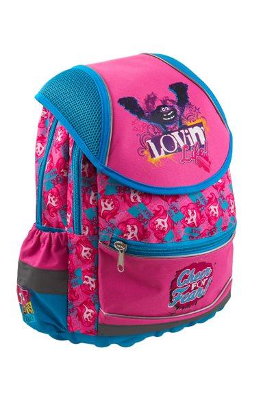 Školní batoh ergonomický - Příšerky Girls - velký