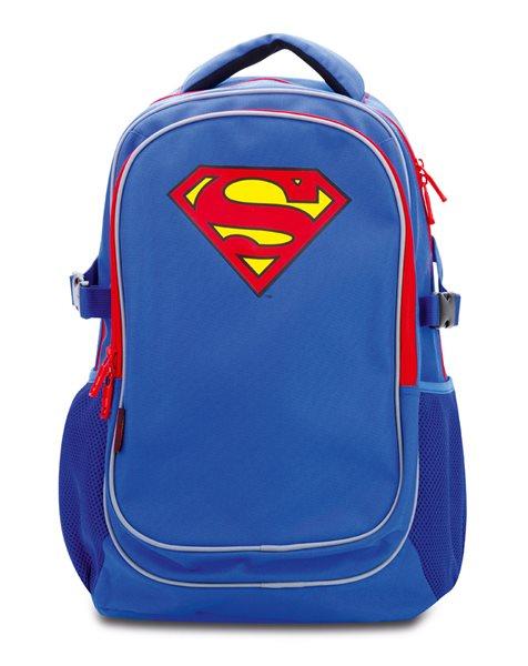 Školní batoh s pončem - Superman, Doprava zdarma