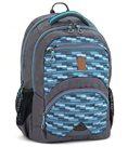 Školní batoh Ars Una AU06 - modrošedý