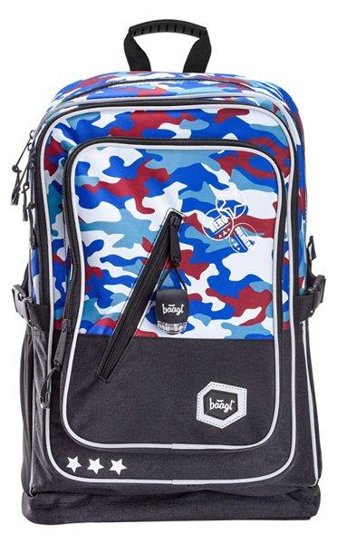 BAAGL Školní batoh Cubic - Army