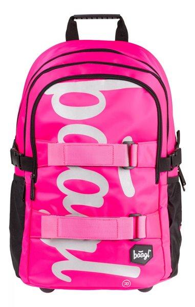 BAAGL Školní batoh Skate - Pink