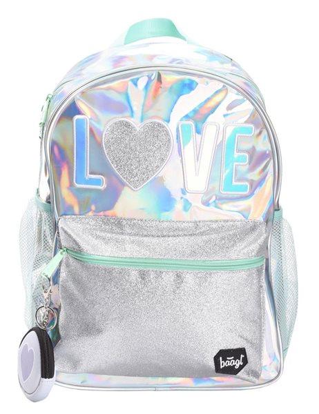 BAAGL Školní batoh Fun - Love