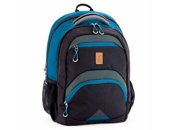 Školní batoh Ars Una AU14 - černo-modrý