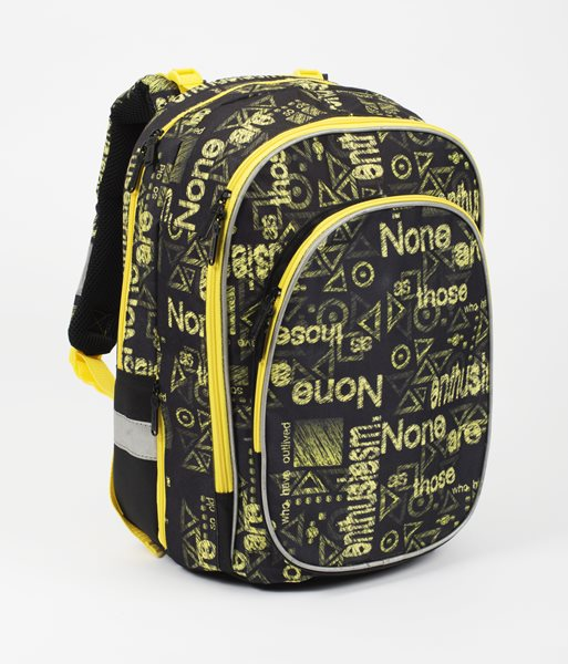 Anatomický batoh ERGO junior - Typo