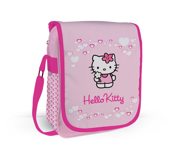 Taška přes rameno na výšku - HELLO KITTY