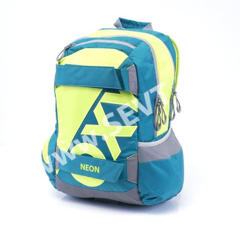 5ce533164c7 Karton PP Studentský batoh OXY SPORT - Neon Green - SEVT.cz