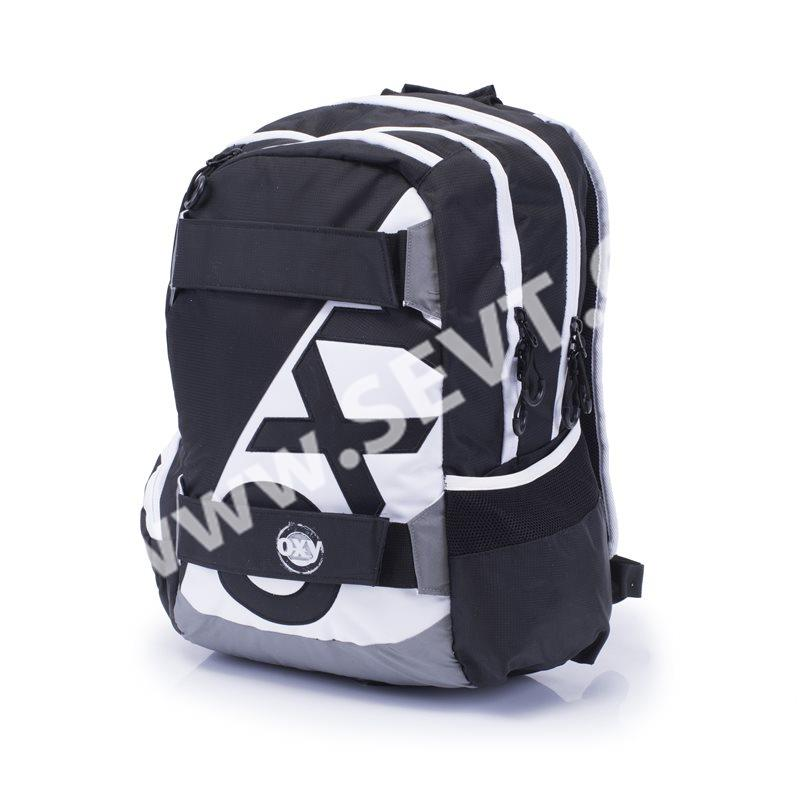 3b017870ed3 Studentský batoh OXY SPORT - Black and White - SEVT.cz