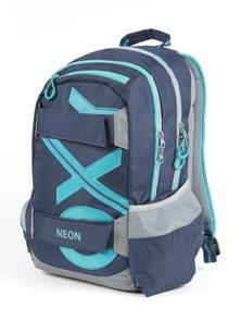 Studentský batoh OXY Sport BLUE LINE - Tyrkys