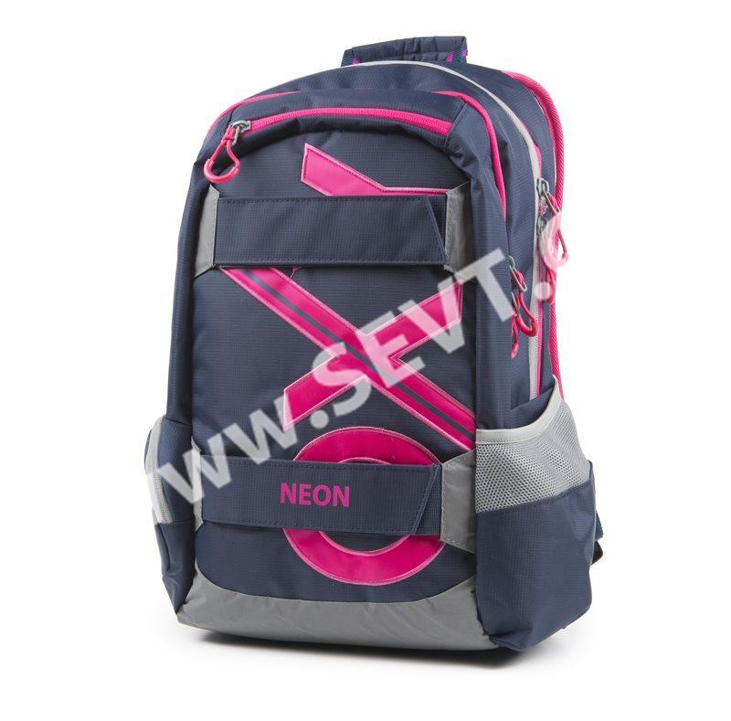 Studentský batoh OXY Sport BLUE LINE - Pink - SEVT.cz 3a05e19d93