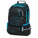 Studentský batoh OXY SPORT Black Line - Blue
