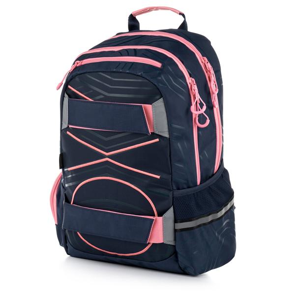 Studentský batoh OXY SPORT Pastel Line - Pink