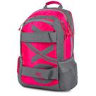 Studentský batoh OXY SPORT Neon Line - Pink