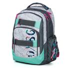 Studentský batoh OXY STYLE - Grey Tropical