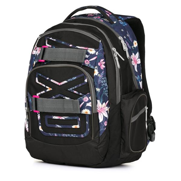 Studentský batoh OXY STYLE - Flowers