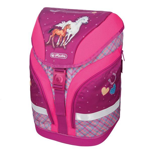 Školní batoh Herlitz motion - Koně, Doprava zdarma