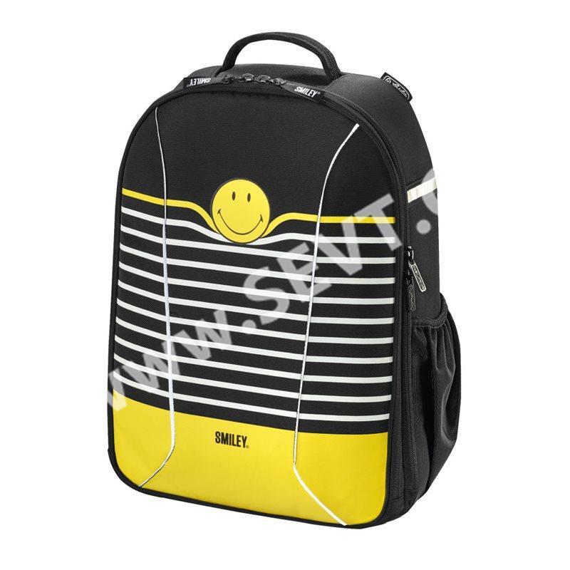 Školní batoh Herlitz be.bag airgo - Smiley B Y Strip - SEVT.cz e267cb0376