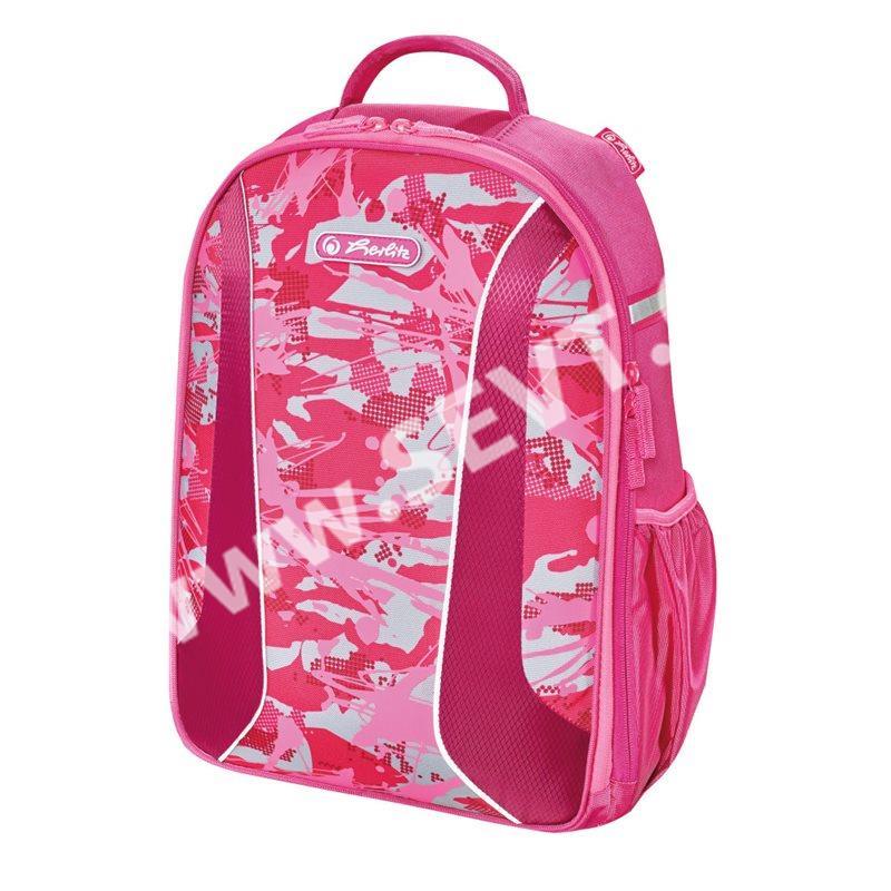 Školní batoh Herlitz be.bag airgo - Kamufláž růžová - SEVT.cz 6308083437