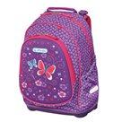 Školní batoh Herlitz Bliss - Fialový motýl