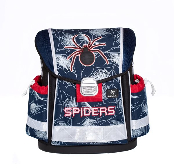 Školní aktovka Belmil - Spiders Royal
