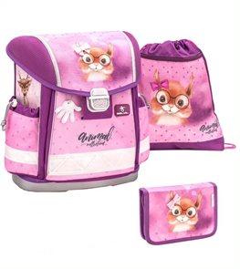 Školní set Belmil - Sweet Squirrel (aktovka + penál + sáček)