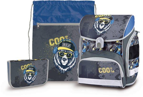 Školní set Stil - Cool Bear (aktovka + penál + sáček)