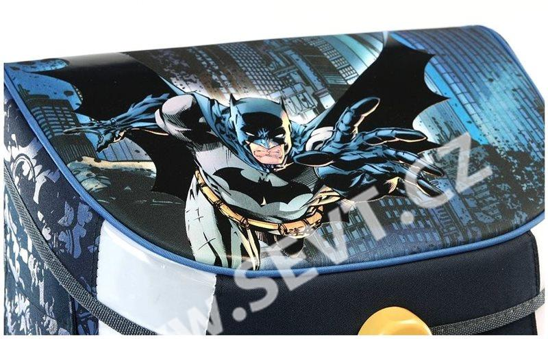 Školní set Ars Una - Batman 17 - aktovka + penál (plný) + sáček na ... 643fe35f2c